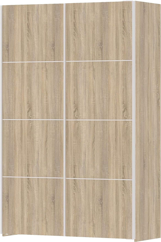 Salone-negozio-online Kit Armario Verona 2 Puertas 122 x 64 x 201H ...
