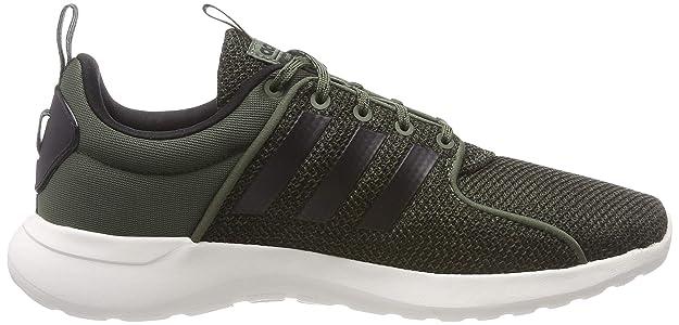 online store 66227 0f6ef adidas Mens Cloudfoam Lite Racer Training Shoes, Green CblackBasgrn, 12.5  UK Amazon.co.uk Shoes  Bags