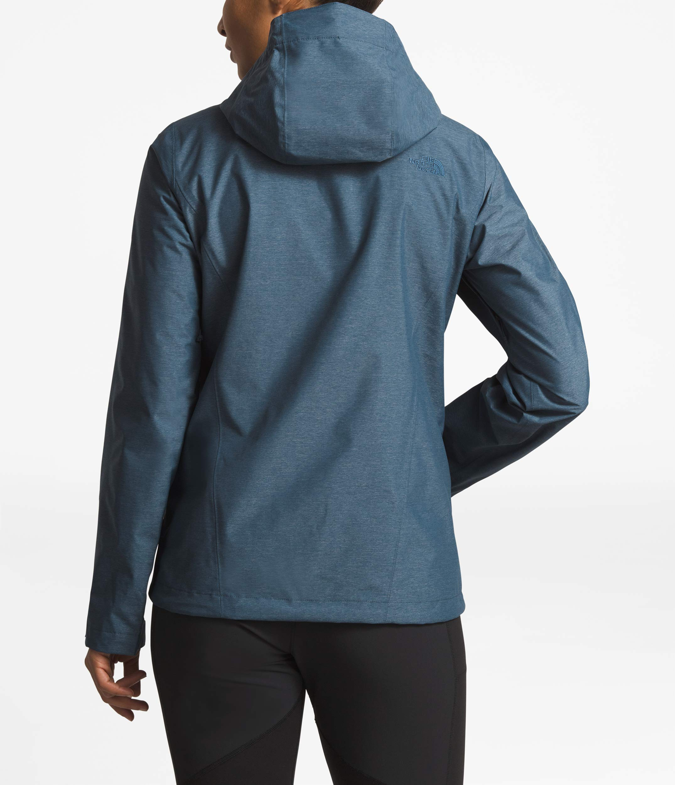 The North Face Women's Venture 2 Jacket, Blue Wing Teal Heather, Size XS by The North Face (Image #3)