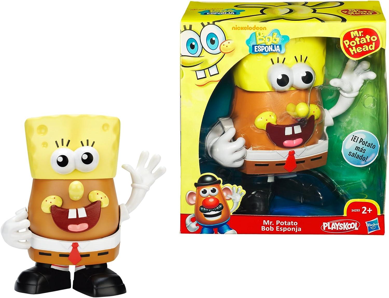 Playskool Hasbro Mr Potato Bob Esponja - Muñeco Mr Potato con ...