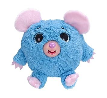 Zigamazoo - Ojos Brillantes, ratón de Peluche, Color Azul (Famosa 700013220)