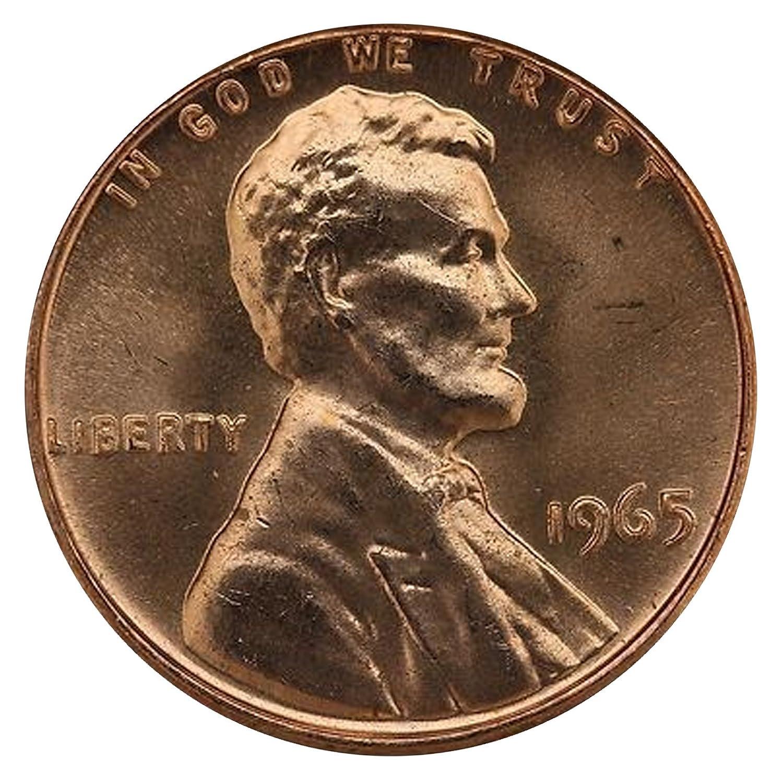 1965 P Lincoln Memorial Cent BU Brilliant Uncirculated Original Bank Roll