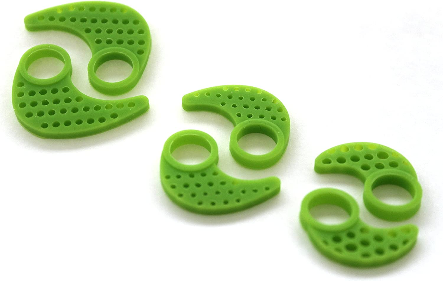 Replacement Silicone Ear FINS for JayBird X2 3 Pairs S//M//L Storm