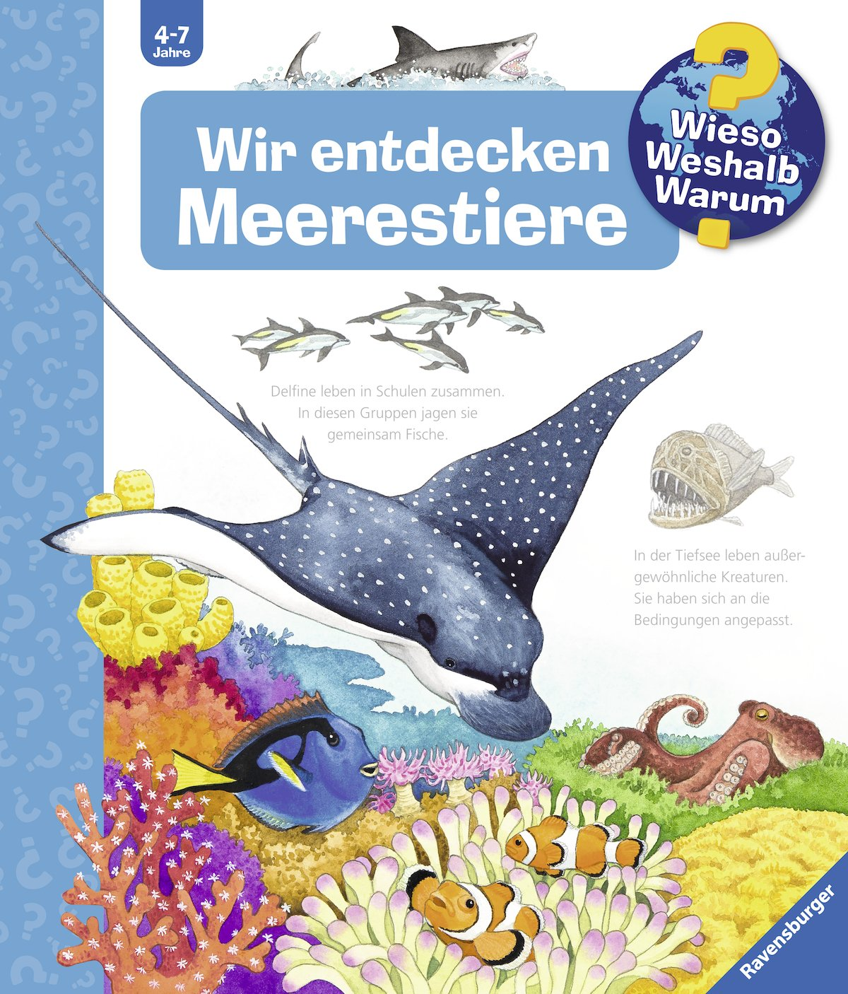 Berühmt Meeresbewohner Färbung Galerie - Malvorlagen-Ideen ...