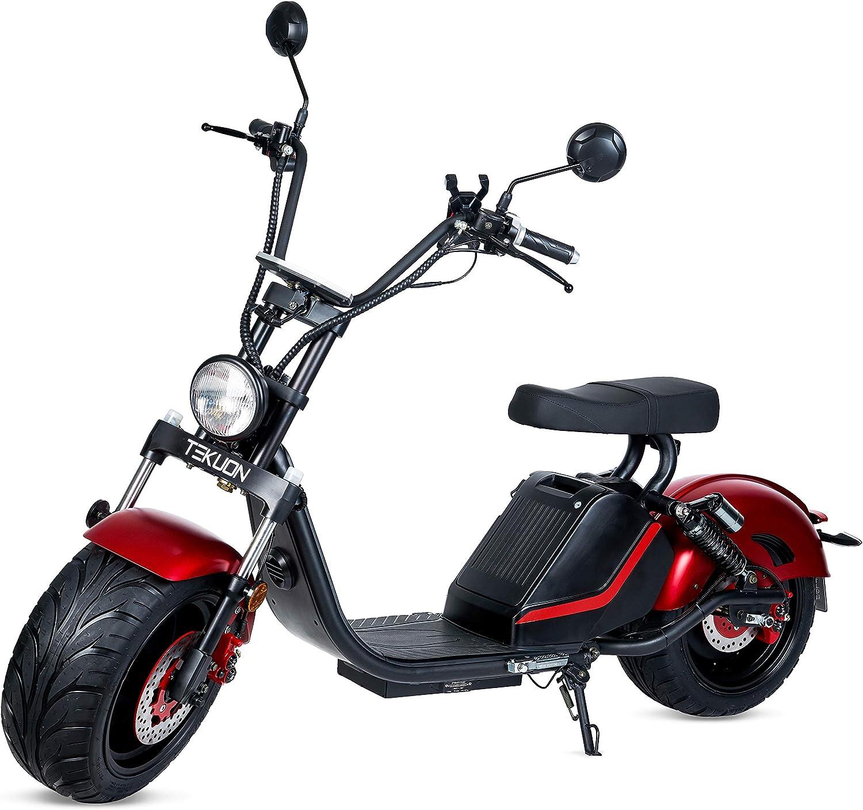 ECOXTREM IKARA 3.0 - Moto eléctrica matriculable, Motor 1500W, batería de Litio 60V - 20Ah. Incluye Pantalla LCD y Doble Asiento Adicional
