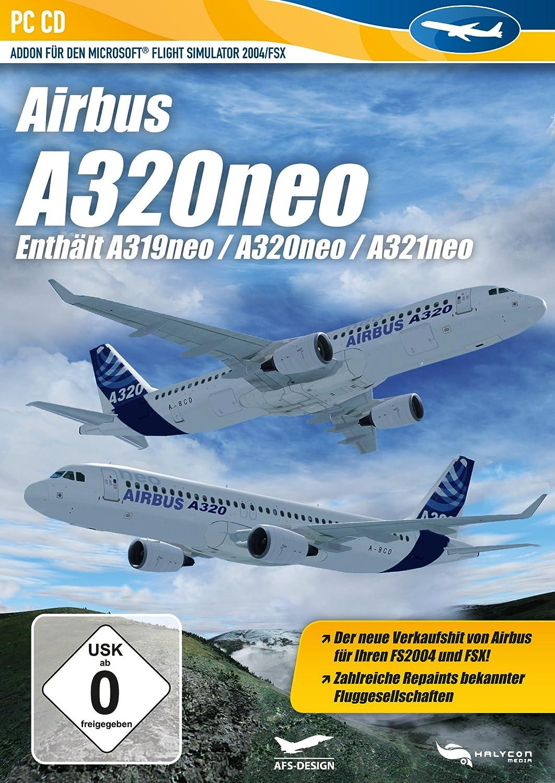 Flight Simulator X - A320 NEO (Add - On) - [PC] [German
