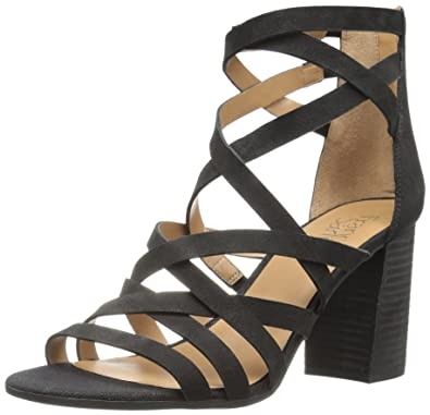 12ab5adb31 Amazon.com   Franco Sarto Women's Madrid Heeled Sandal   Heeled Sandals