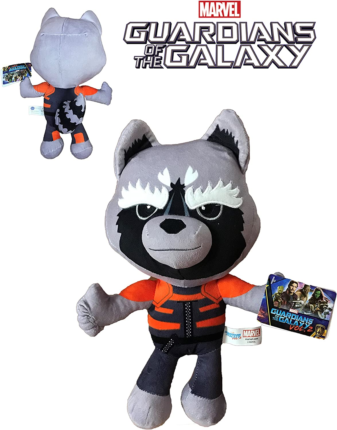 Marvel Guardianes de la Galaxia - Peluche Rocket Racoon 30cm Calidad super soft