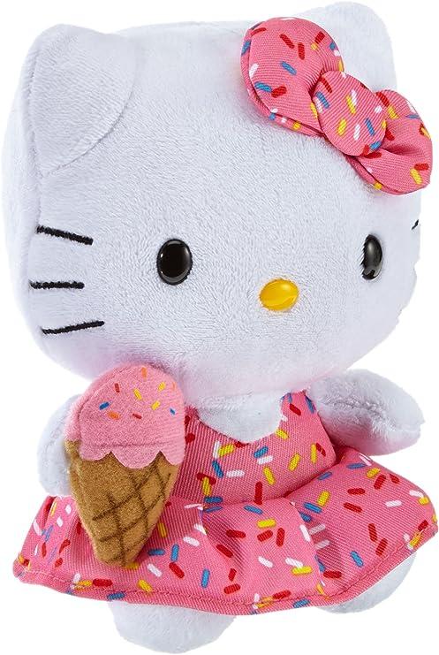 Ty Hello Kitty - Peluche con Helado, 15 cm, Color Rosa 42090TY ...