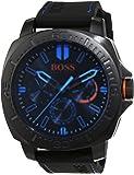 Hugo Boss Orange 1513242 Montre pour homme à quartz, plusieurs sous-cadrans et bracelet en silicone