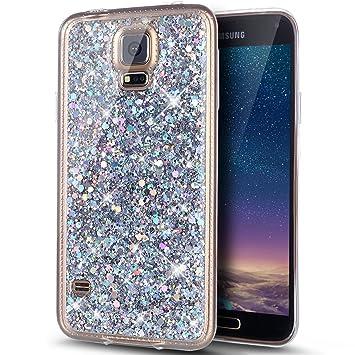 Galaxy S5 Custodia Custodia In Pelle Di Lusso Con Disegni Colorati