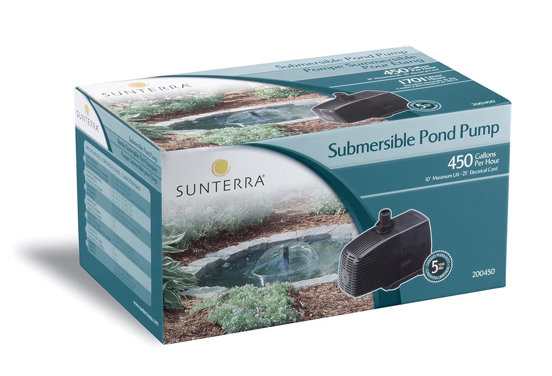 Amazoncom  Sunterra  Pond Pump  GPH Black  Pond Water - Amazon pond pumps
