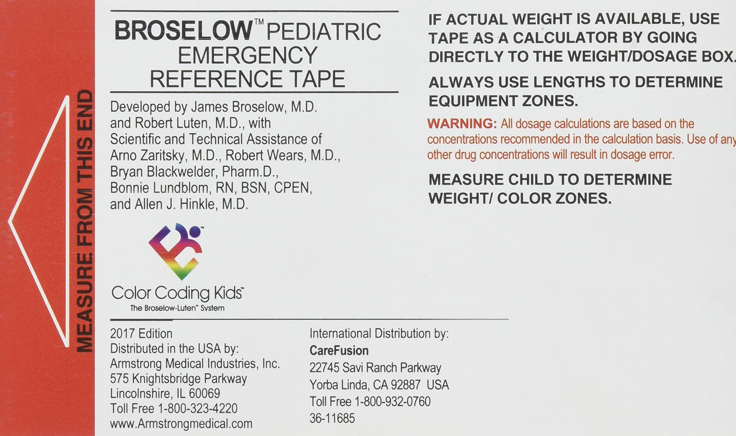 Download Broselow Pediatric Emergency Tape 2017 pdf epub