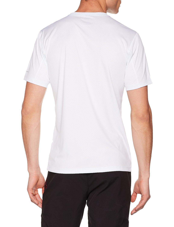 Hombre Columbia Zero Rules Short Sleeve Graphic Shirt Camiseta de Manga Corta