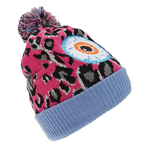 ff9fccb27a6fc Amazon.com  Childrens Kids Monster Eyes Winter Bobble Hat (One Size ...