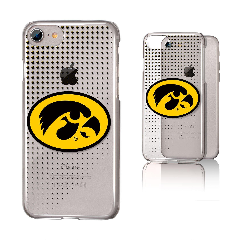 Keyscaper Iowa Hawkeyes Dots Clear Case for iPhone