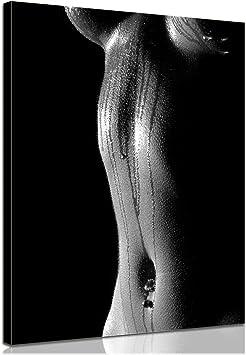 Bilderdepot24 Bastidor Imagen - Cuadros en Lienzo Mujer (Erotismo) 30x40cm - Made in Germany!: Amazon.es: Hogar
