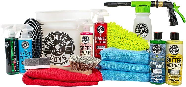 Chemical Guys 16-Piece Arsenal Builder Car Wash Kit