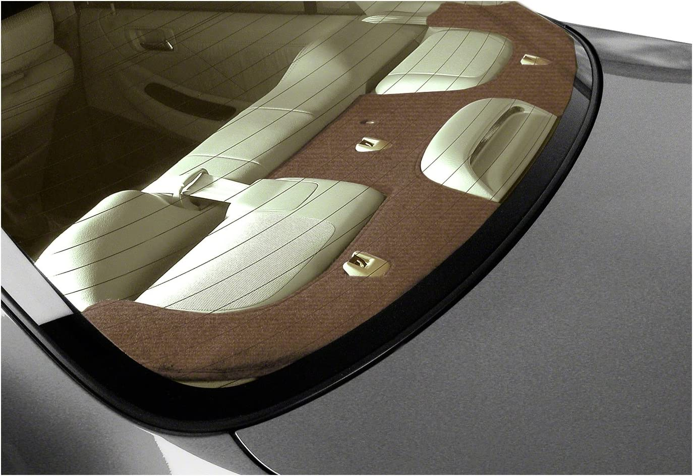Brown Coverking Custom Fit Dashcovers for Select Pontiac Firebird Models Velour