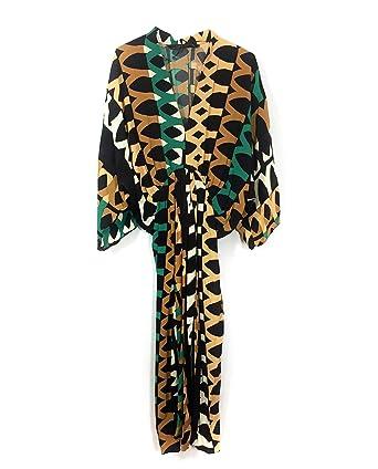 Zara Women Printed Draped Dress 2463/742 (X-Small)