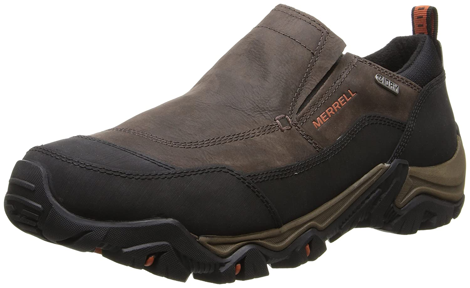 Amazon.com | Merrell Mens Polarand Rove Moc Waterproof Winter Slip On | Loafers & Slip-Ons