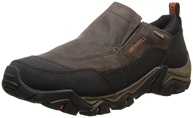 Merrell Men's Polarand Rove Moc Waterproof Winter Slip-On Shoe: Amazon.co.uk:  Shoes & Bags