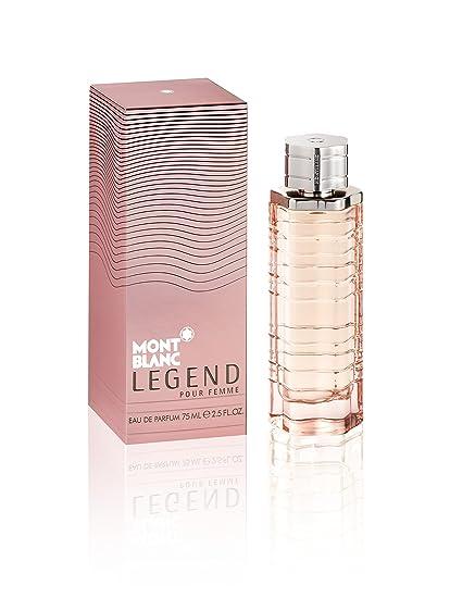 fc25288b257f2 Montblanc Legend, Agua de perfume para mujeres - 75 ml.  Amazon.es ...