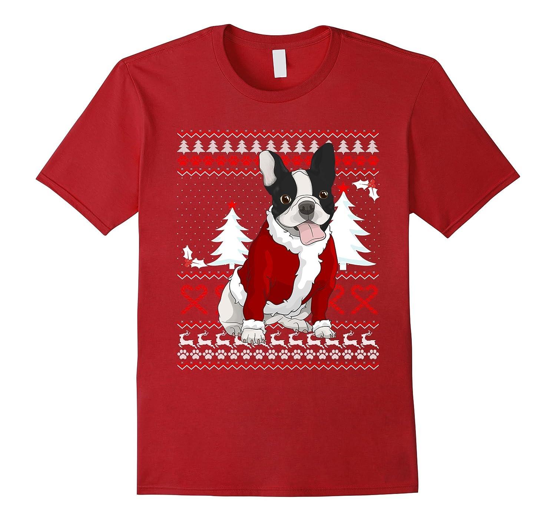 Cute French Bulldog Christmas Shirt Funny Xmas Gift-FL