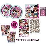 Game Lol Doll Birthday Party Invites Invitations X 10 Pack Amazon