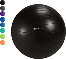 Amazon Com Gaiam Classic Ball Chair