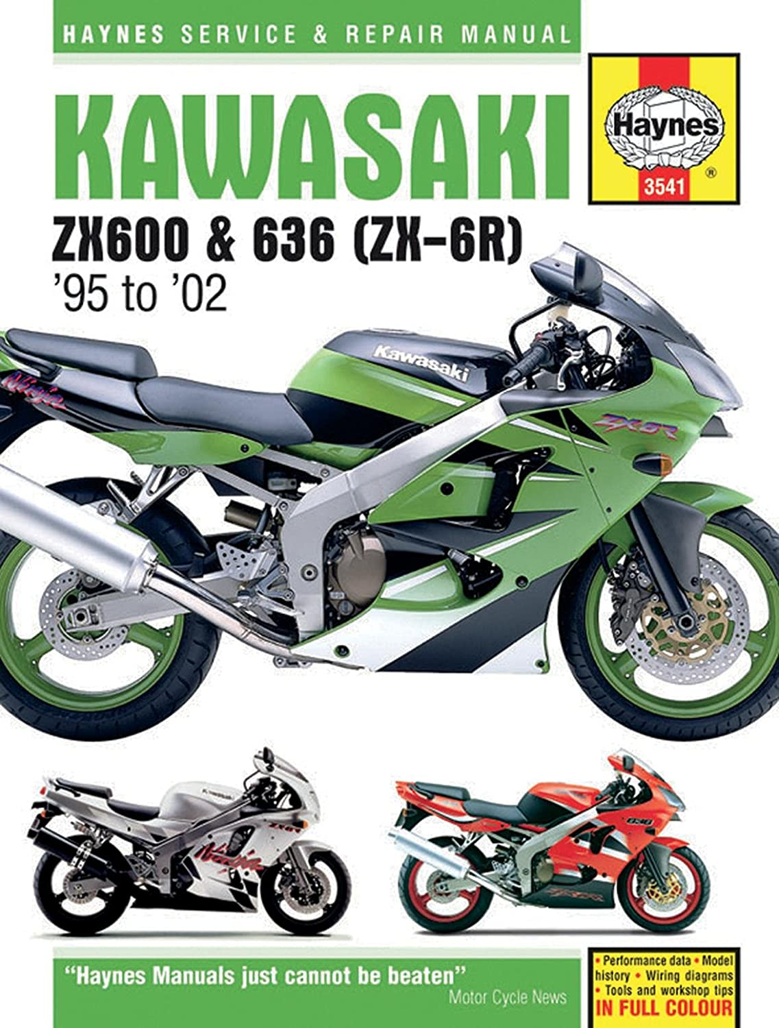 [DIAGRAM_5FD]  Amazon.com: Haynes Repair Manual ZX6R 3541: Automotive | Zx6r Engine Diagram |  | Amazon.com