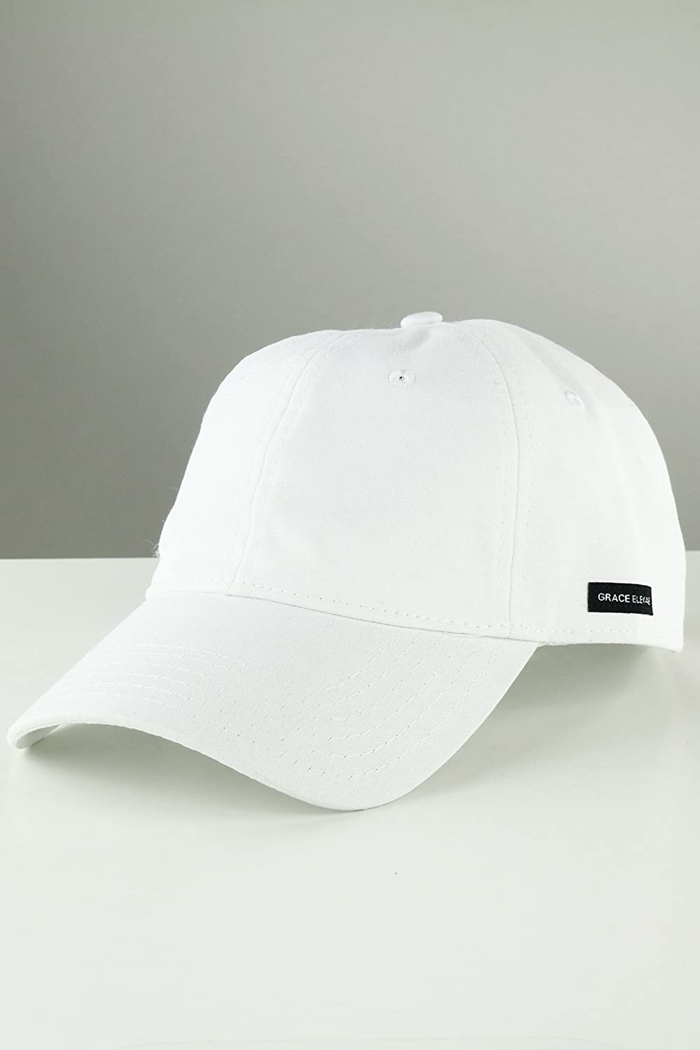 b4aecb2309 Grace Eleyae Women's Baseball Cap - SLAP - Satin Lined Dad Hat, White:  Amazon.ca: Clothing & Accessories