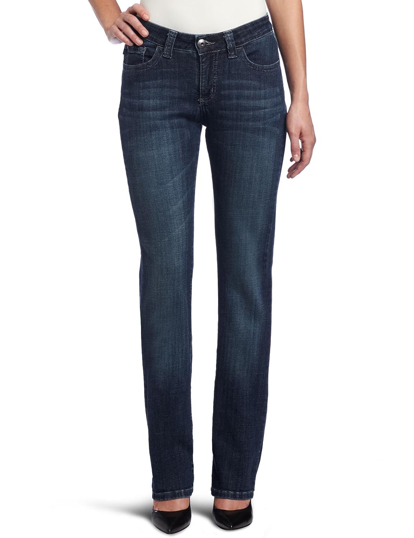 42a812e3 Amazon.com: Lee Women's Slender Secret Kingston Barely Bootcut Jean:  Clothing