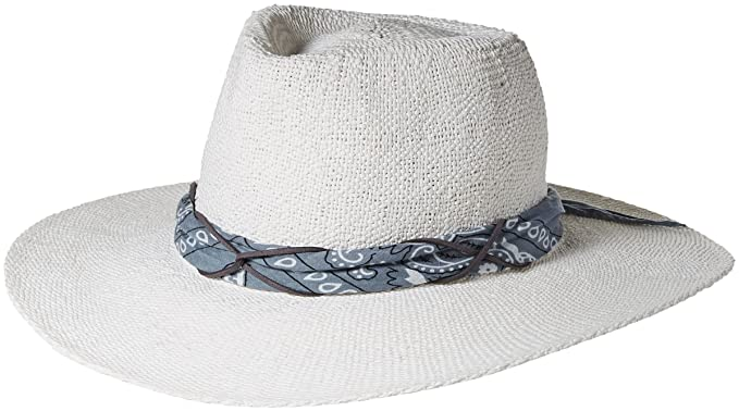e3875a9dd52 ale by Alessandra Women s Bailey Woven Toyo Sunhat Packable   Adjustable