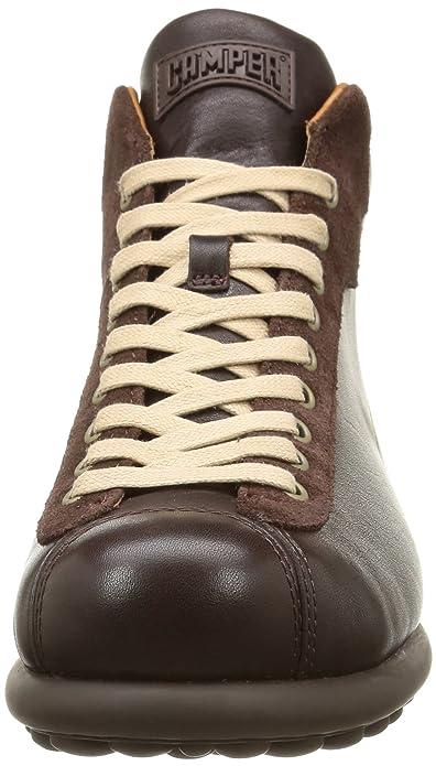 Camper Pelotas Ariel - Botas de cuero para hombre marrón marrón ...
