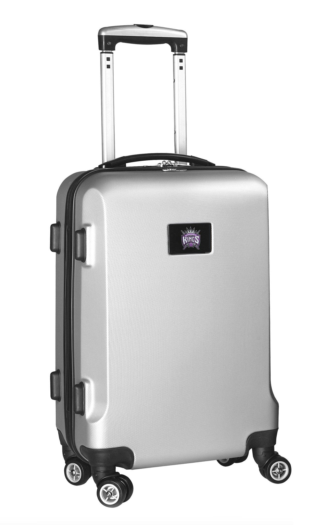 NBA Sacramento Kings Carry-On Hardcase Spinner, Silver by Denco