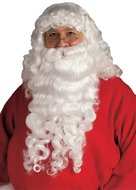 031f14cd4f3b0 Amazon.com  Rubie s Santa Beard and Wig Set