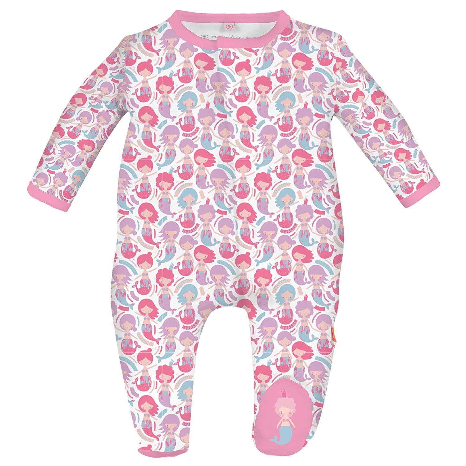 Magnificent Baby Baby Girls Magnetic Footie