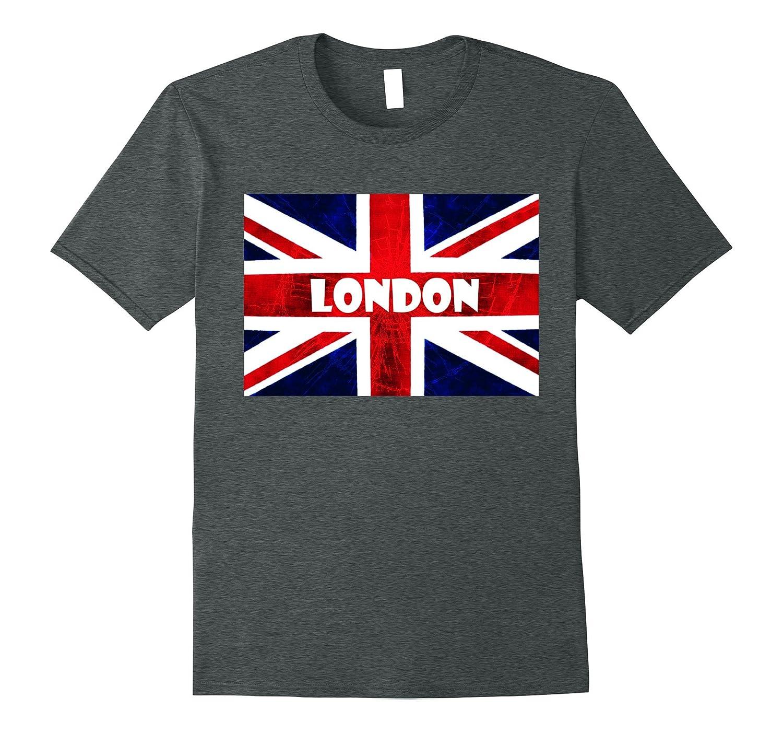 London 2017 British UK Union Jack Flag T Shirt England-CD