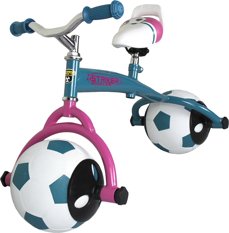 B0154CC5R4 Striker Easy to Ride Balance Bike with Soccer Ball Tires 81bwGkQDABL