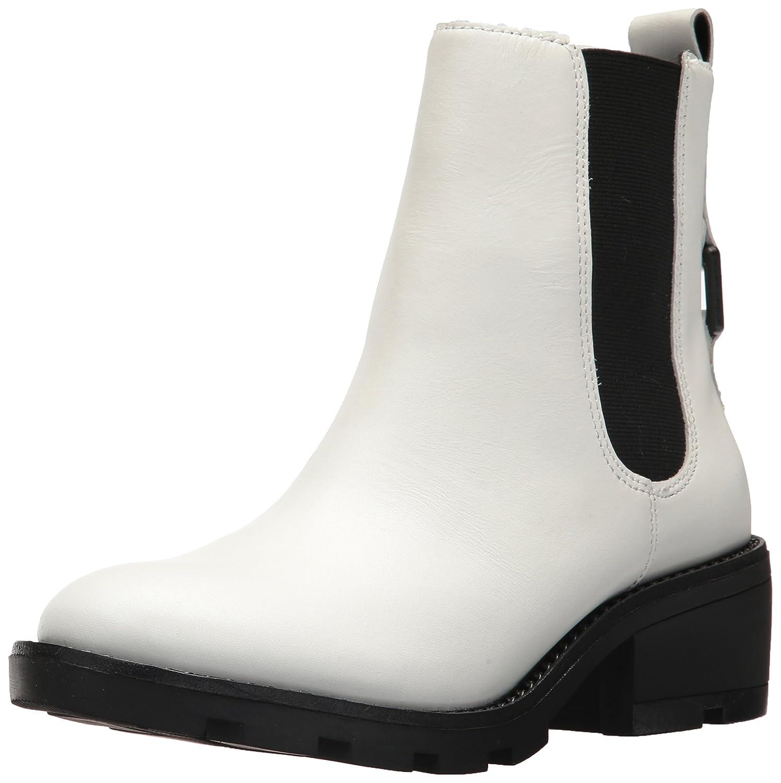 KENDALL + KYLIE Women's Porter Chelsea Boot B071RNNWC5 9.5 B(M) US|White