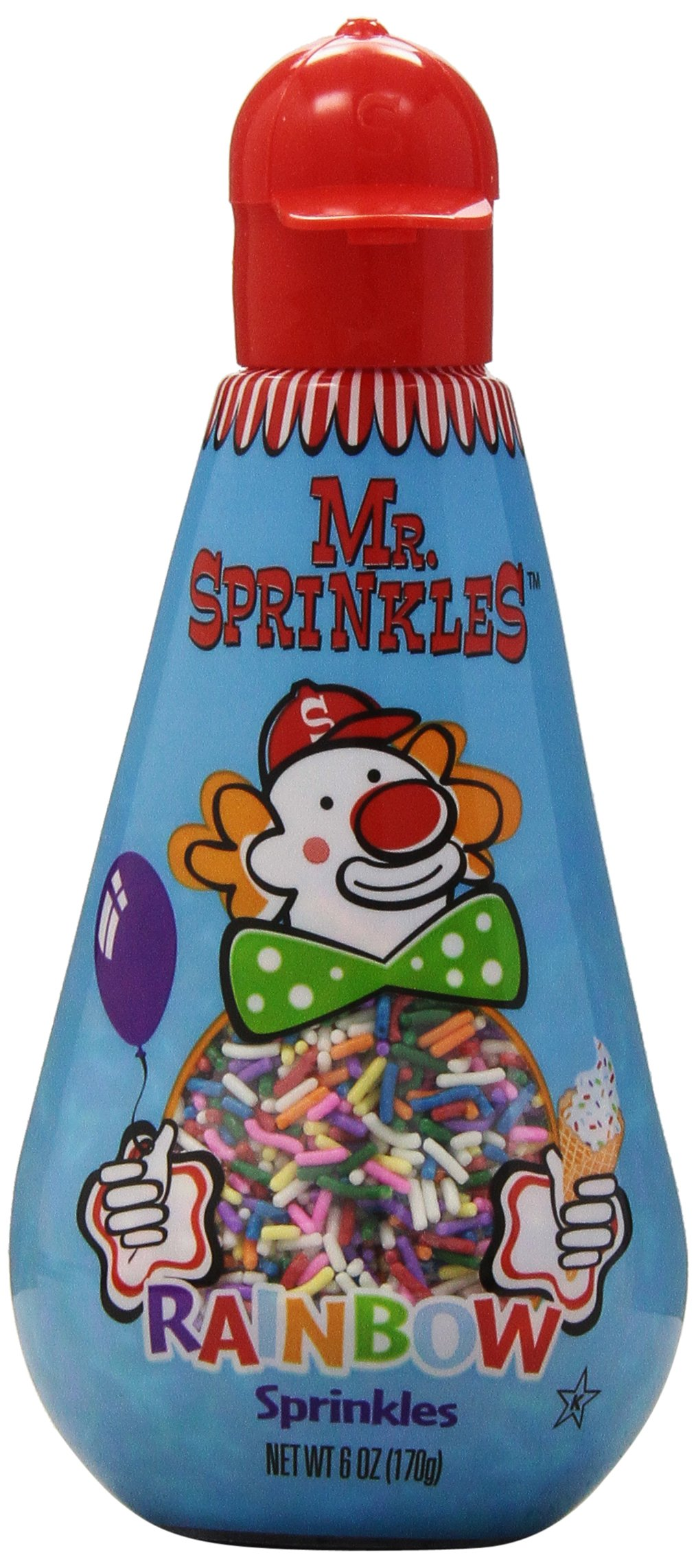 Mr. Sprinkles Rainbow Sprinkles, 6 oz