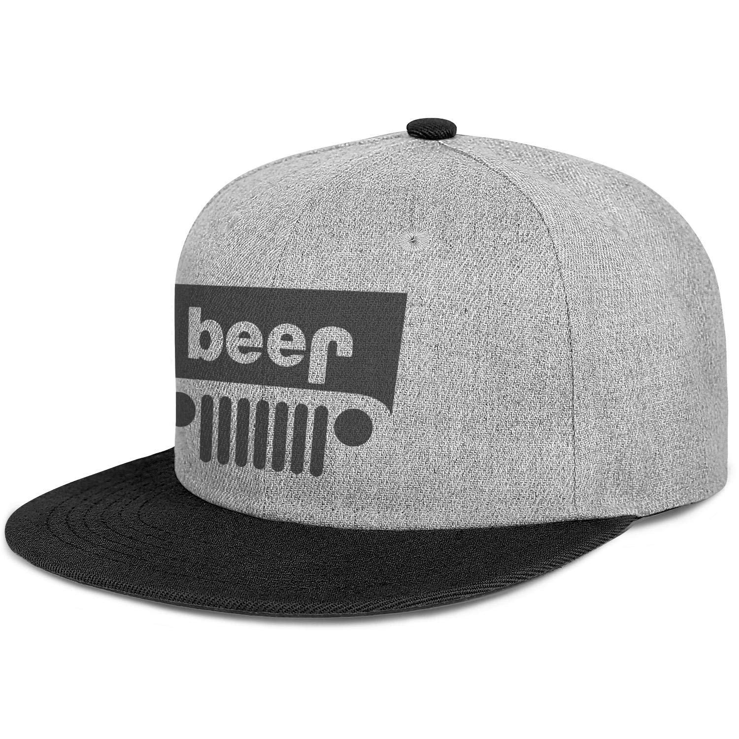 Unisex Baseball Hat-Beer Jeep Funny Drinking 1 Design Adjustable Snapback Sport Cap