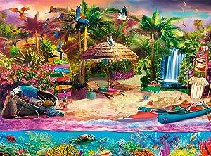 Buffalo Games - Tropical Island Holiday - 1000 Piece Jigsaw Puzzle