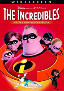 The Incredibles Widescreen Two Disc Collectors Edition