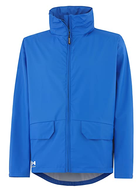 HellyHansen Voss Waterproof Jacket XXXL Racer Blue: Amazon.co.uk ...