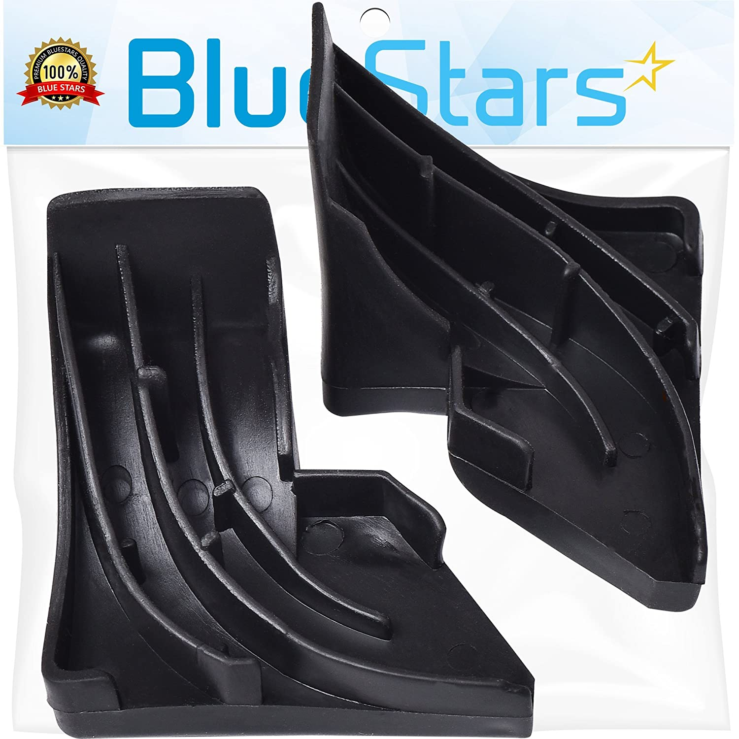 Ultra Durable WD8X227 & WD8X228 Corner Gaskets Replacement Kit by Blue Stars – Exact Fit For GE & Hotpoint Dishwashers - Replaces PS263963 PS263964