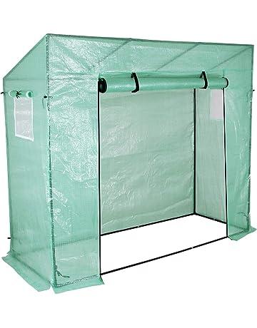 Yorbay Invernadero de Jardín con Pantalla Rejilla de PE (140g/㎡), para