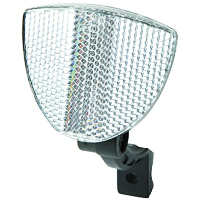 Raleigh Front Handlebar Reflector - White: Automotive