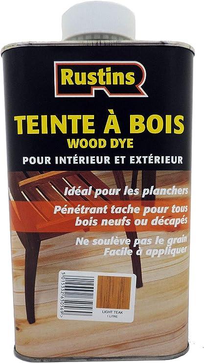 Rustins 5015332650552 madera Dye color teca